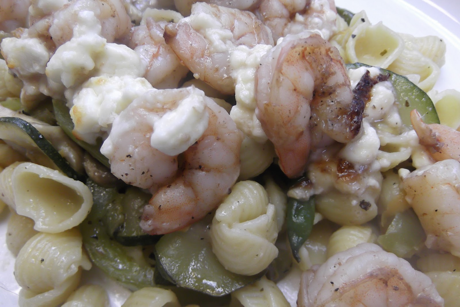 ... Men- Recipe Blog: Pasta Primavera with Shrimp and Feta Cheese