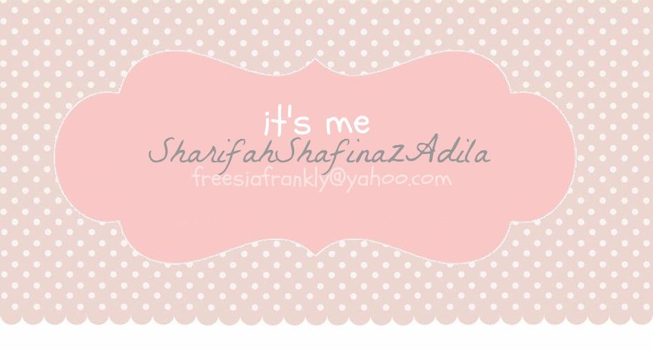 ✄ SHARIFAH SHAFINAZ ADILA♔