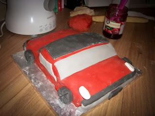 Volkswagen Porsche 914 cake