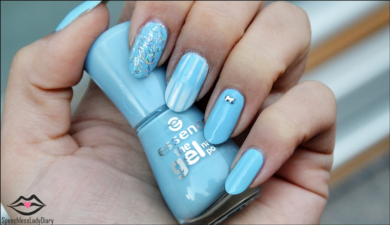 Speechless Lady Diary Notw Essence Winter Nail Art Design