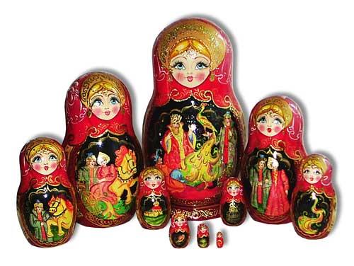 matryoshka dolls a famous aspect of russian culture cultural identity