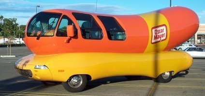 Wienermobile Fun Facts together with  likewise Primates Penis Size How Do You Measure further  additionally  on oscar mayer wiener wagon today