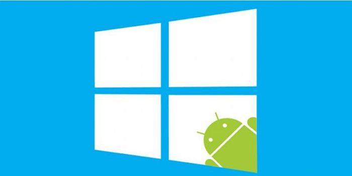 Windows di Android