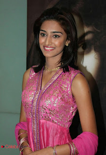 Erica Fernandes Pictures in Pink Salwar Kameez at 555 Audio Launch ~ Celebs Next