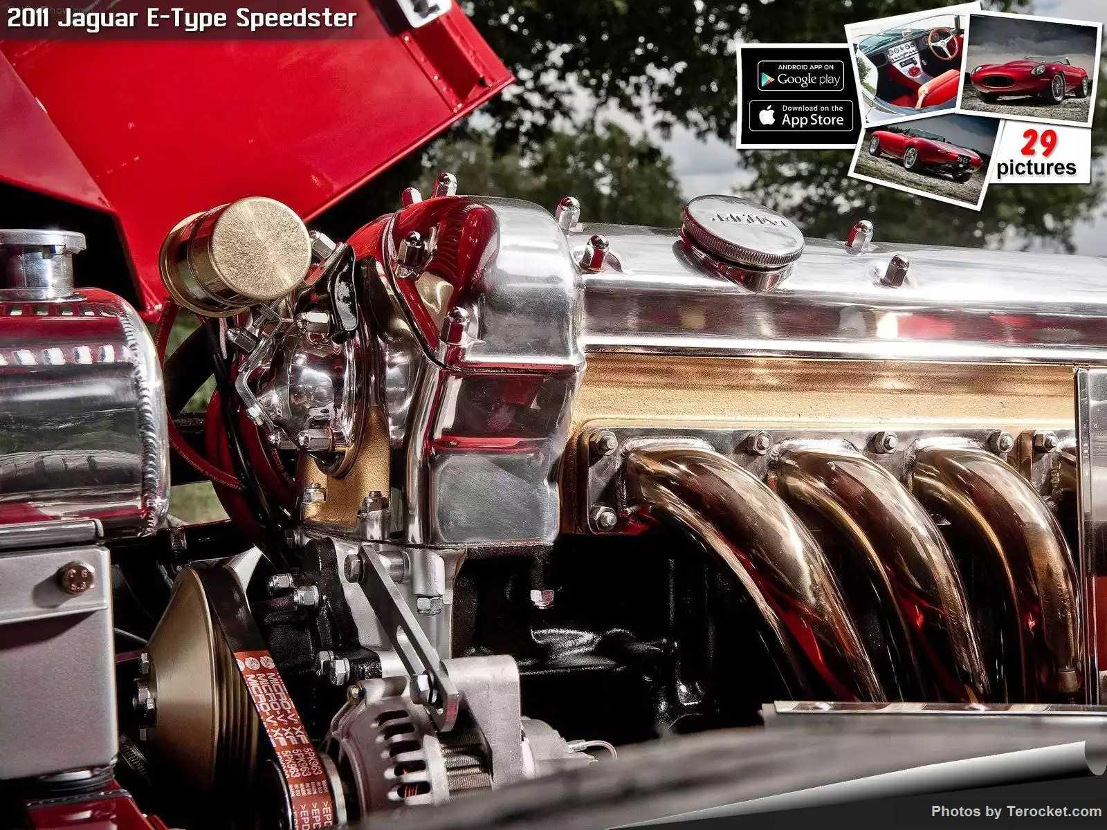 Hình ảnh xe ô tô Jaguar E-Type Speedster 2011 & nội ngoại thất