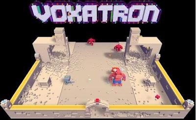 Voxatron walkthrough, The Humble Voxatron Debut.