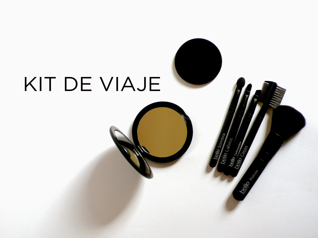Kit de brochas de belle&MAKE-UP