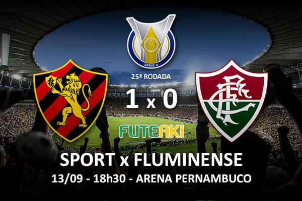 Veja o resumo da partida com o gol e os melhores momentos de Sport 1x0 Fluminense pela 25ª rodada do Brasileirão 2015.