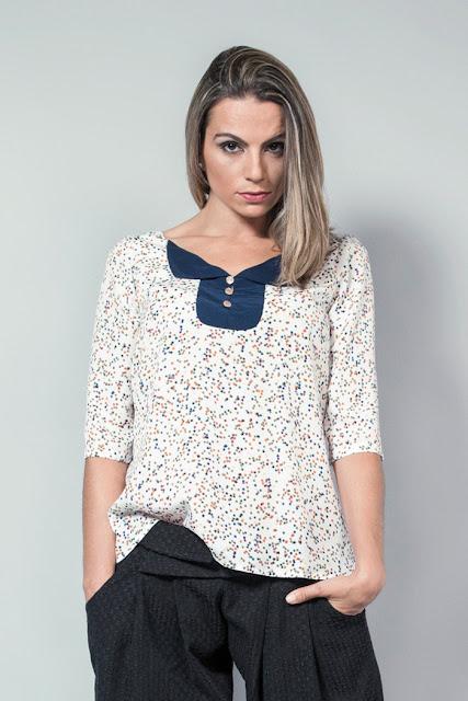 camisa de blusa estrellas naif