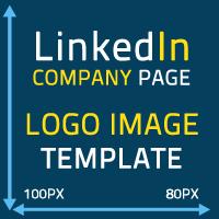 linkedin company page logo image size