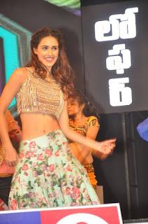 Disha Patani super cute beauty golden Choli Light Green Flower print Skirt amazing Slim Beauty Disha Patani