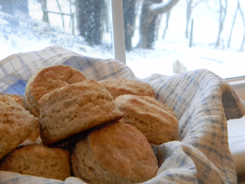 Home Joys: Whole Wheat Biscuits
