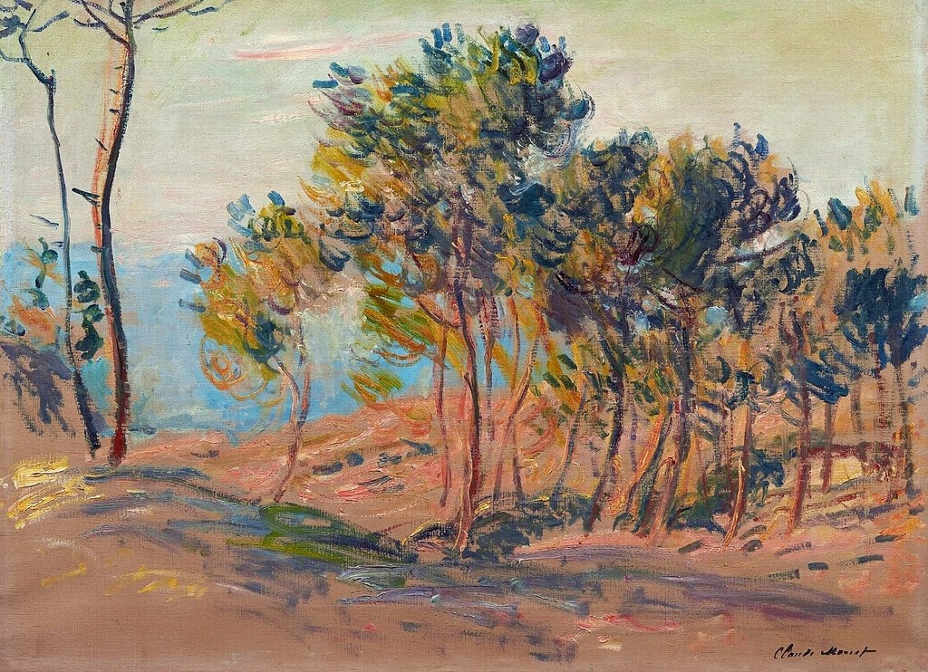 Sapins à Varengeville (1882)