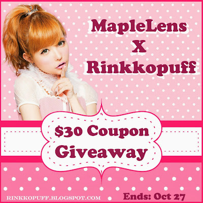 ✩✩ MapleLens Sponsored Giveaway ✩✩