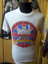 VINTAGE THE WHO 1986 50/50 T SHIRT (SOLD!!