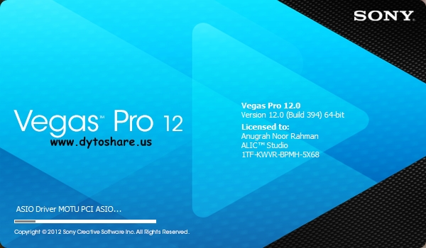 Vegas Pro Suite 12.0 build 394