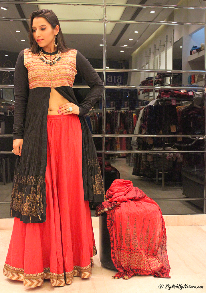 Ethnic Indian outfit women