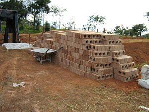 Tijolo ecológico - tijolo solicimento
