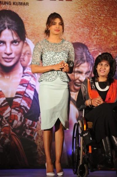 Priyanka Chopra during Mary Kom Music Launch