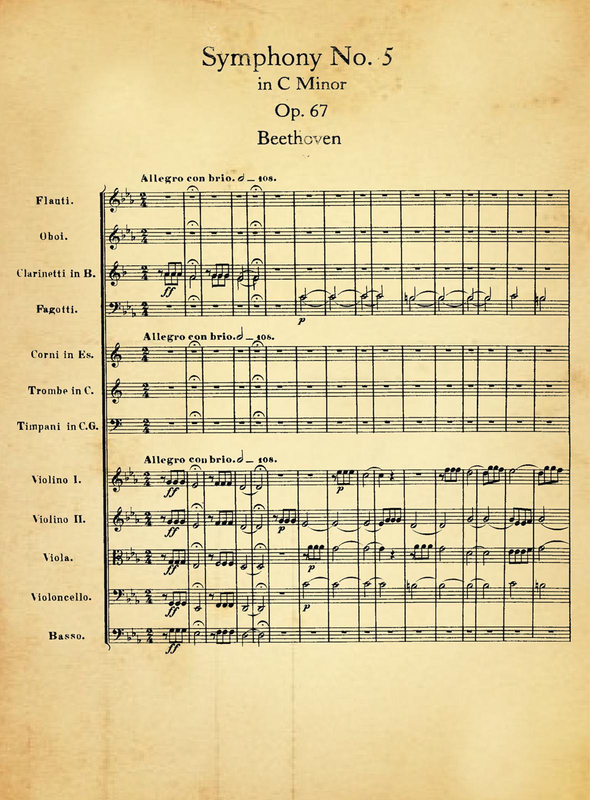 Quinta sinfonia de beethoven - 4 9