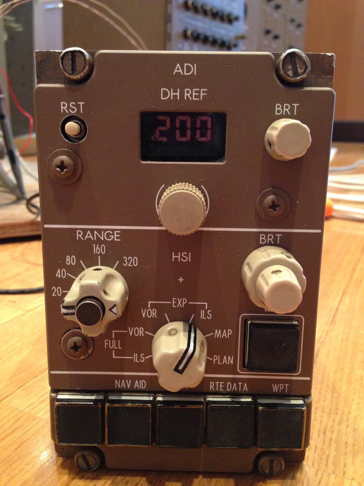 Boeing 767 Simulator Project  Avionics Bending  Efis Control Panel