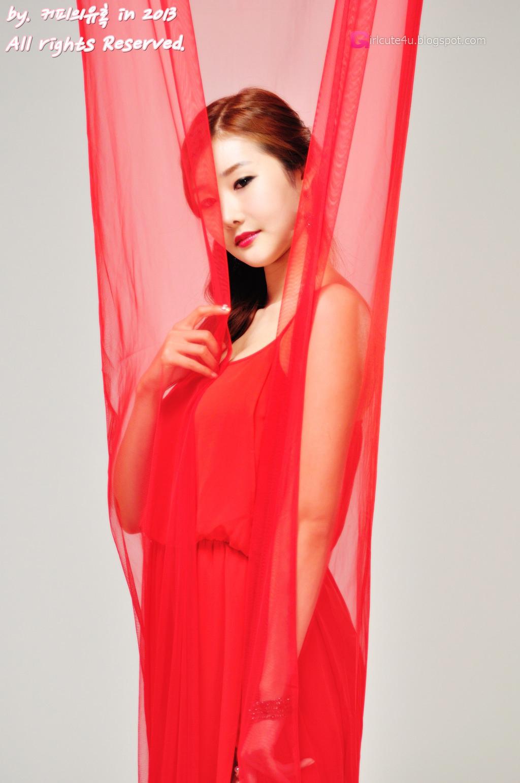 Hot red Han Min Young ~ Cute Girl - Asian Girl - Korean