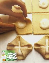 Pastelitos de hojaldre y Crema