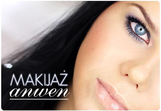 Alina Rose Blog Kosmetyczny Makijaż Anwen Smoky Dla Niebieskich