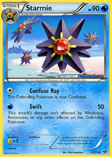 Starmie Next Destinies Pokemon Card