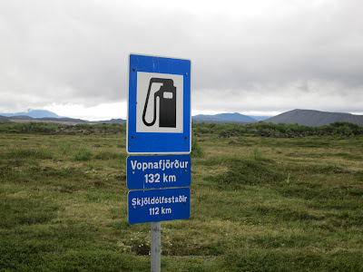 No fuel ahead! Iceland