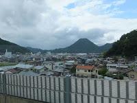 西舞鶴の町風景。