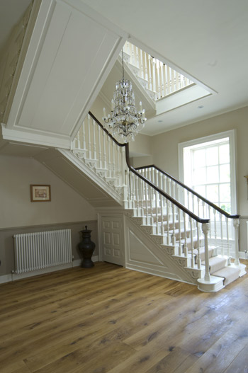 Modern Country Style Case Study Farrow And Ball White Tie