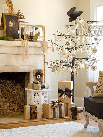 really been drawn to christmas decor with more neutral colours and natural elements here is selection of pictures i have found to illustrate the look - Neutral Christmas Decor
