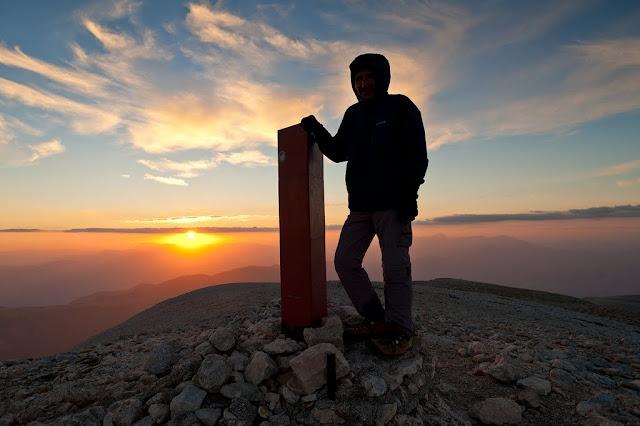Tramonto sul Monte Amaro della Majella