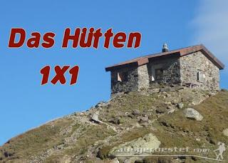E5 Hütten 1x1
