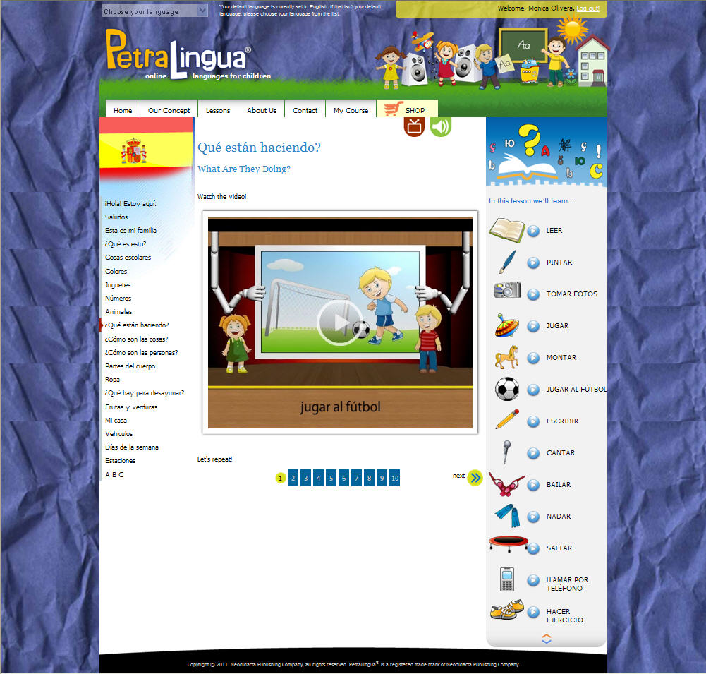 Mommy Maestra Online Learning With Petralingua