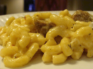 Alfredo Macaroni and Cheese with Classico Roasted Garlic Alfredo Sauce