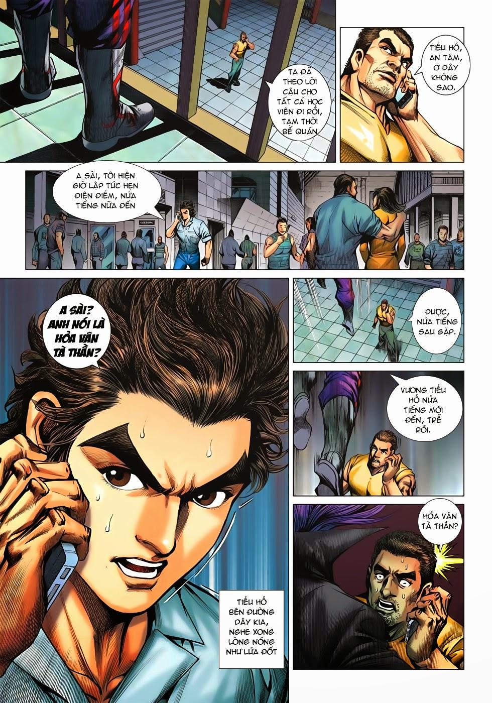 Tân Tác Long Hổ Môn chap 621 - Trang 14