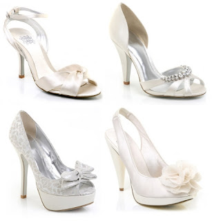 Fotos de 4 sapatos femininos para festa de casamento