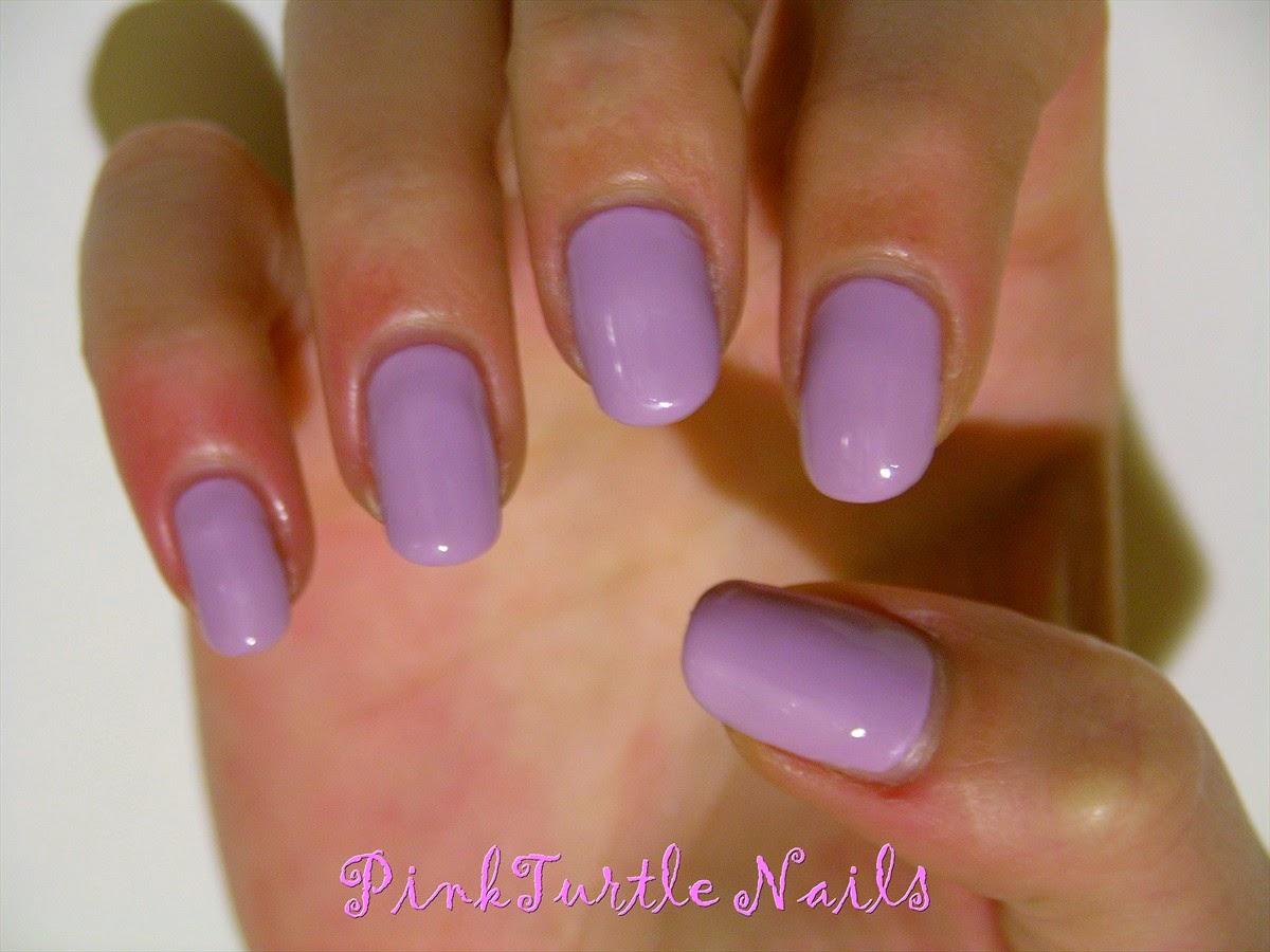 PinkTurtle Nails: Morado de la Semana: Essie 743 Nice is Nice