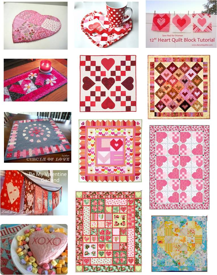 Free Pattern Day Hearts And Valentines Part 3 Quilt