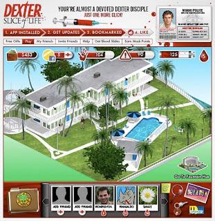 Dexter : Jeu bientôt disponible sur Facebook (Video)