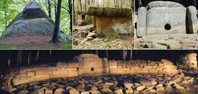 DÓLMENES RUSOS – 10000 años de antiguedad