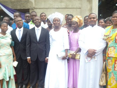 wedding photos of deeper life church sister