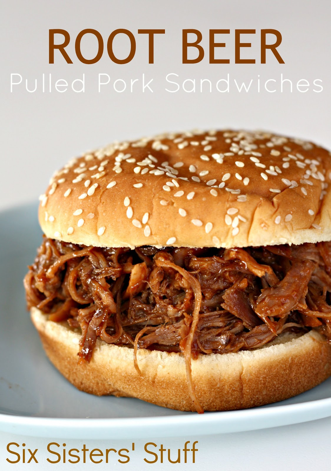 Pulled pork sandwich slow cooker recipe