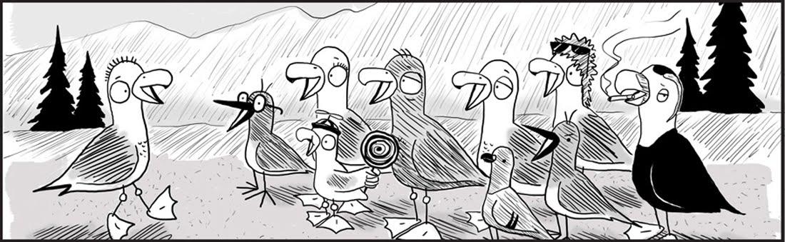 Gulls Comic