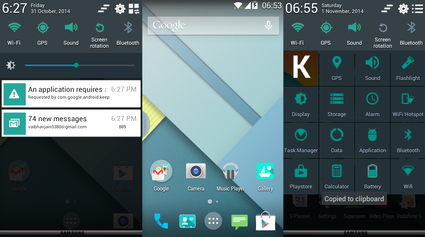 How to upgrade android kitkat to lollipop