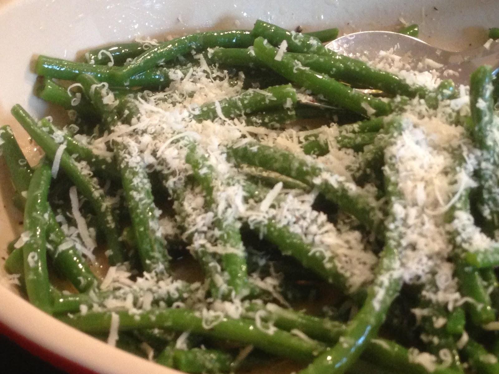 Kochen ist kein Hexenwerk: Grünen Bohnen mit Parmesan und ...