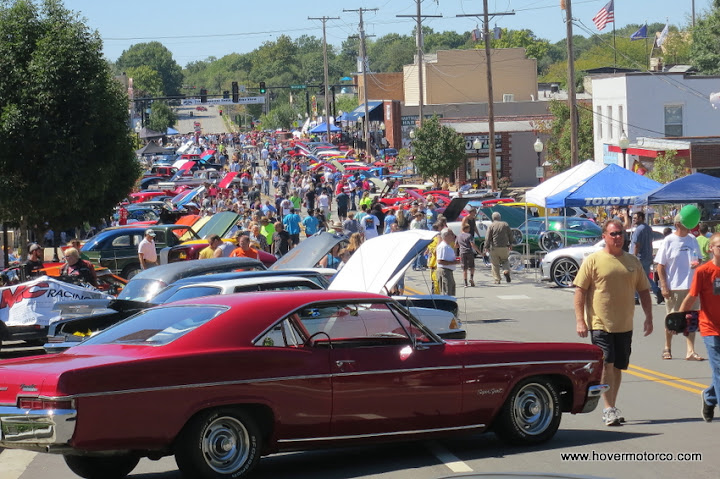 7th Annual Shawnee Wheels and Dreams Car Show was bigger than I bargained for
