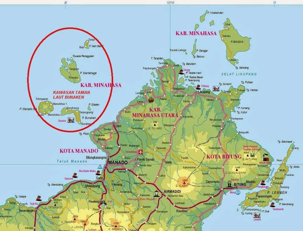 Visit North Sulawesi and South Sulawesi Bunaken Manado Tana